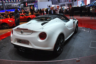 alfa romeo 4c spider. Black Bedroom Furniture Sets. Home Design Ideas