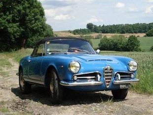 Acheter une ALFA ROMEO Giulia Spider (1962-1966) - guide d'achat