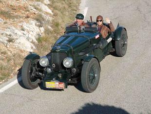 ASTON MARTIN Ulster 1934 - Avignon Motor Festival 2008.com