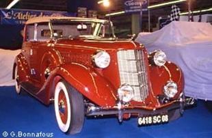 AUBURN 654 - Rétromobile 2004.com
