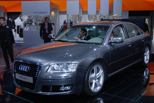 AUDI A8 2.8 FSI - Salon de Francfort 2007.com