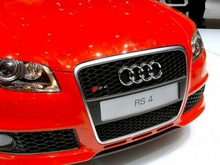 AUDI RS4 - Salon de Genève 2005.com