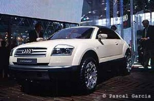 AUDI Steppenwolf - Mondial de Paris 2000.com