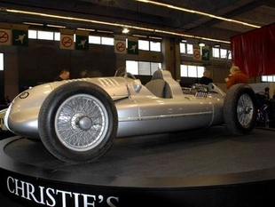 AUTO UNION Type D - Rétromobile 2007.com