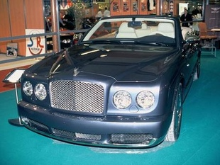 BENTLEY Arnage cabriolet - Salon du Cabriolet et du Coupé 2005.com
