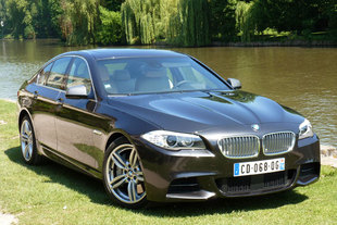 bmw m550d xdrive le sport en smoking. Black Bedroom Furniture Sets. Home Design Ideas