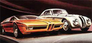 BMW Turbo concept - Rétromobile 2001.com