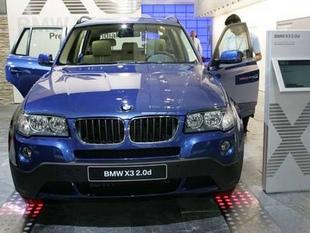 BMW X3 - Mondial de l'automobile 2006.com