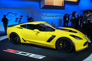 Salon de Detroit 2014 : CHEVROLET Corvette C7 Z06