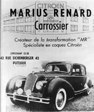 CITROEN Traction 15 Six Marius Renard - Rétromobile 2004.com