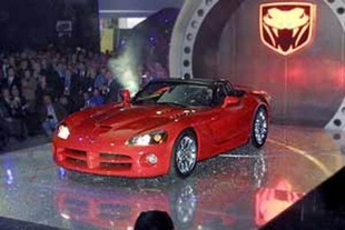 DODGE Viper - Salon de Detroit 2001.com