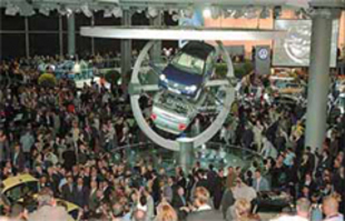 Salon de Francfort 2001