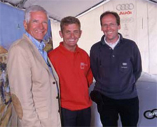 Interview de T. Franck (Audi Tradition) - Grand Prix de l'Age d'Or 2000  Interview.com