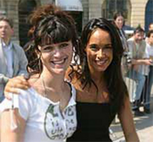 Interview de Karine Lima - Rallye des Princesses 2003  Interview - Page 1.com