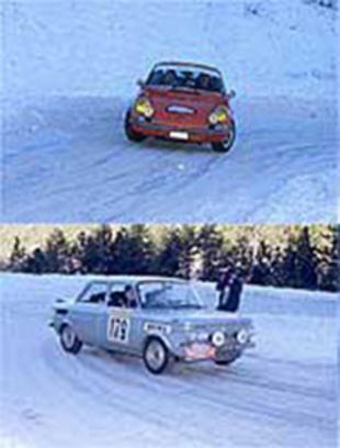 La légende revisitée - Monte-Carlo Historique 2001  Reportage.com