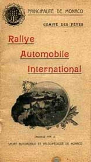 Historique du rallye de Monte-Carlo - Monte-Carlo Historique 2001  Histoire - Page 1.com
