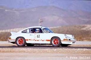 Détente pour le Club Porsche de France - Tour d'Espagne 2000  Reportage.com