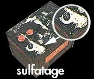 batterie voiture qui sulfate