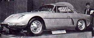 Le mythe s'écrit en bleu - L' A108 : davantage de puissance Saga Alpine A 110  Histoire.com