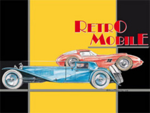 Rétromobile 2007 -  nouveautés, concept-cars, vidéos, photos