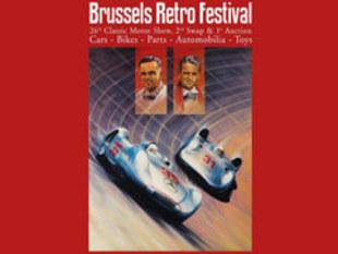 Brussels Retro Festival 2007 -  nouveautés, concept-cars, vidéos, photos