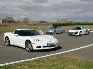 Trois V8 au coude à coude - Essai Comparatif auto.com