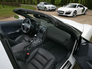 Trois V8 au coude à coude - Habitacle Comparatif auto.com