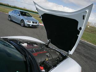 Trois V8 au coude à coude - Moteur Comparatif auto.com