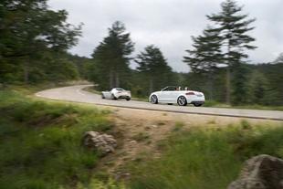 Lotus Elise SC / Audi TTS Roadster - Châssis Comparatif auto.com