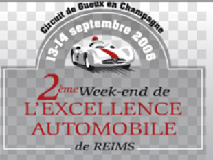 Week-end de l'Excellence automobile de Reims 2008