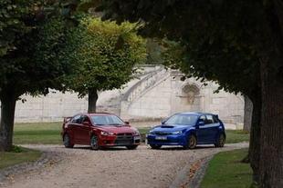 Subaru Impreza WRX STi / Mitsubishi Lancer Evolution - Châssis Comparatif auto.com
