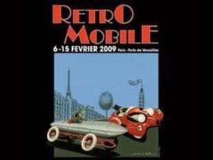 Rétromobile 2009 -  nouveautés, concept-cars, vidéos, photos