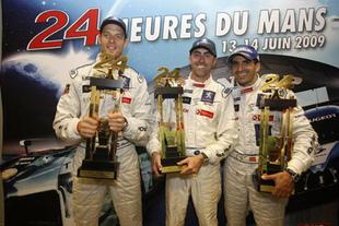 LMP1 : Peugeot terrasse Audi - 24 Heures du Mans 2009  Reportage.com