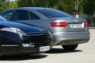 Audi A6 TDI / Citroën C6 HDI - Mécanique, châssis Comparatif auto.com