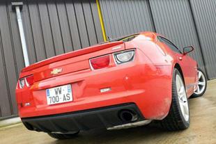 Chevrolet Camaro / Ford Mustang GT - Design extérieur et intérieur Comparatif auto.com