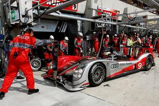 00h - 10h : Peugeot presque battu, deux Audi en tête - 24 Heures du Mans 2010  Reportage.com