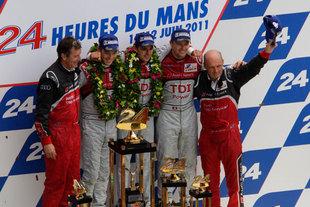 9h - 15h : une seule Audi a terrassé quatre Peugeot - 24 Heures du Mans 2011  Reportage.com