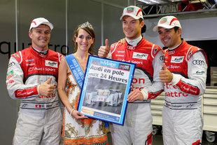Audi place sa nouvelle Hybride en pole - 24 Heures du Mans 2012  Reportage.com