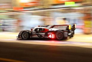 00h - 10h : tir groupé des quatre Audi - 24 Heures du Mans 2012  Reportage.com