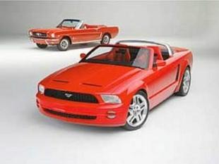 FORD MUSTANG Concept - Salon de Detroit 2003.com