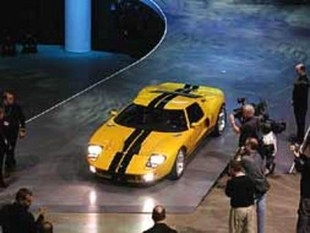 FORD USA GT 40 concept - Salon de Detroit 2002.com