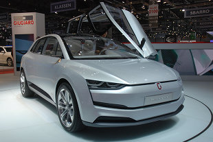 Salon de Genève 2014 : ITAL DESIGN Giugiaro Clipper