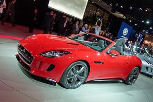 JAGUAR F-Type - Mondial de l'Automobile 2012.com
