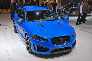 JAGUAR XFR-S Sportbrake - Salon de Genève 2014.com