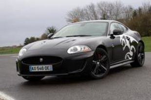 JAGUAR XKR Black Cat