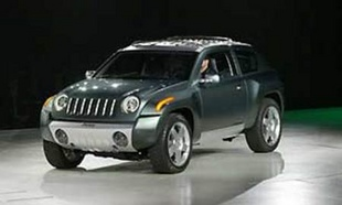 JEEP Compass - Salon de Detroit 2002.com
