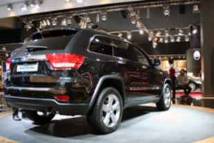 Mondial automobile de Paris 2010 : JEEP Grand Cherokee