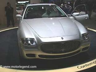MASERATI Quattroporte - Salon de Francfort 2003.com