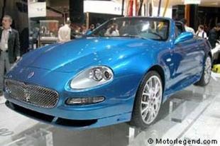 MASERATI Spyder 90ème anniversaire - Mondial de Paris 2004.com