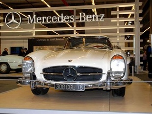 MERCEDES 300 SL Roadster - Rétromobile 2007.com